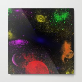 Boundless Space Collection Metal Print
