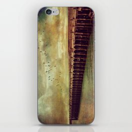 Step Back in Time at Sumpter Wharf iPhone Skin