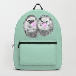 Playful Twins Hedgehog Backpack