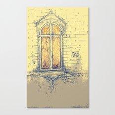 Window in Christiania Canvas Print