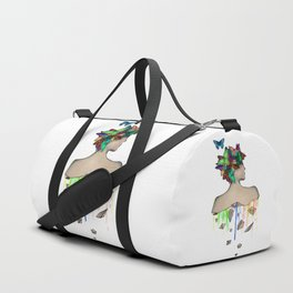 Metamorphosis Girl Duffle Bag