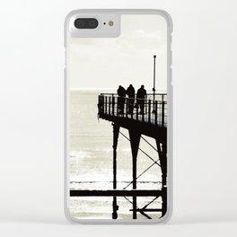 Sea B4 Clear iPhone Case