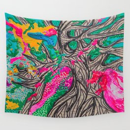 Grow Slow Wall Tapestry