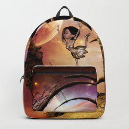 Dancing on the moon Backpack