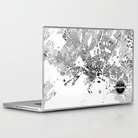 oslo Laptop & iPad Skins featuring OSLO by Maps Factory