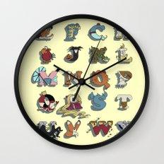 The Disney Alphabet Wall Clock