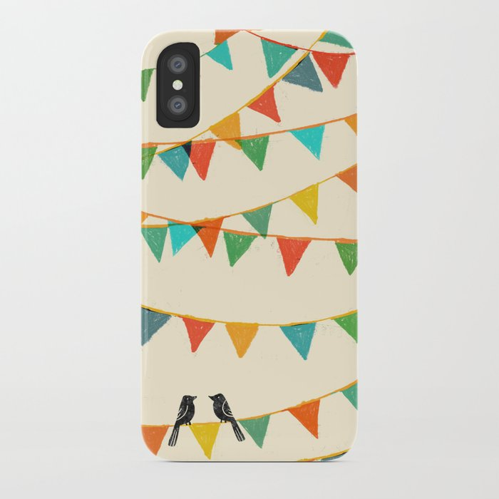 Carnival is coming to town iPhone Case