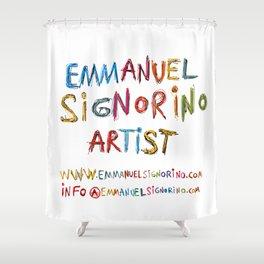 Emmanuel Signorino Artist Shower Curtain