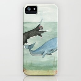 Millie and Her Whale iPhone Case