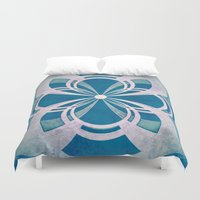 infinity Duvet Covers featuring Infinity by Enrico Guarnieri 'Ico-dY'