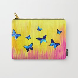 Butterflies and Vivid Sundrenched Colors Carry-All Pouch
