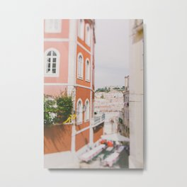 Summer in Lisbon Metal Print