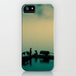 Mekong highway iPhone Case