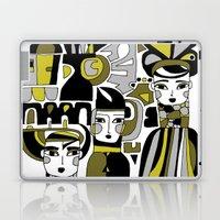 DOODLE GIRLS Laptop & iPad Skin