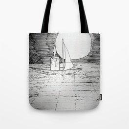 night sail Tote Bag