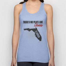 No place like home - Florida Unisex Tank Top