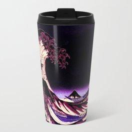 The Great WAVE Eggplant Purple Travel Mug