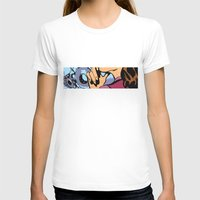 calendars T-shirts featuring Pop Art Pin-Up girl in the car shop wall by Sofia Youshi