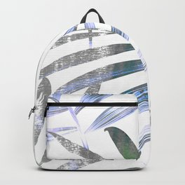 low colored tropical leaves Backpack