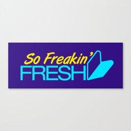 So Freakin' Fresh v3 HQvector Canvas Print