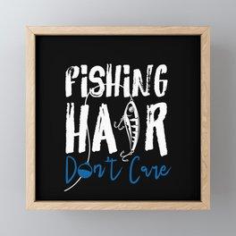 Fishing  Fishing Lover Framed Mini Art Print