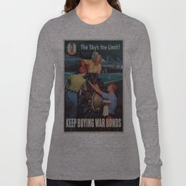 Vintage poster - War Bonds Long Sleeve T-shirt