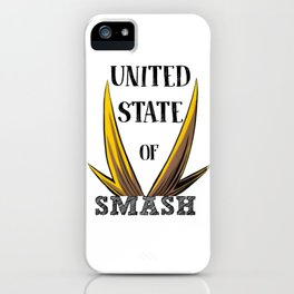 United State Of Smash, All Might iPhone Case