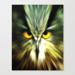 BAD OWL Canvas Print