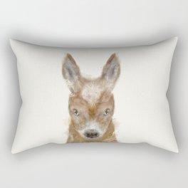 little donkey Rectangular Pillow
