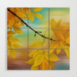 Fall Wood Wall Art
