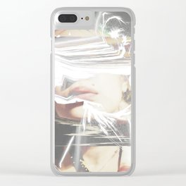 Shifting Timelines Clear iPhone Case