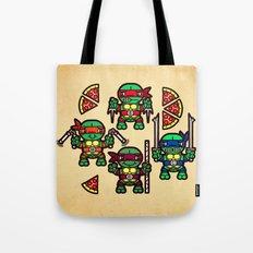Teenage Mutant Ninja Turtles Pizza Party Tote Bag