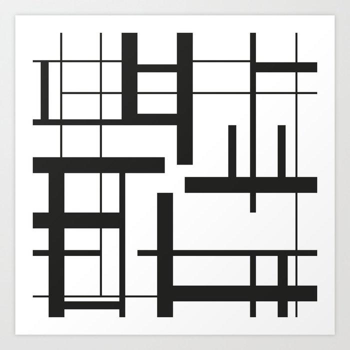 Lines #3 Art Print