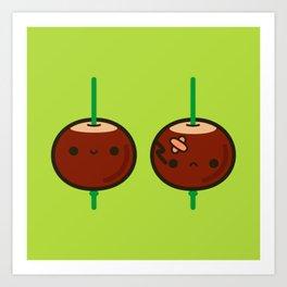 Cutie conkers Art Print