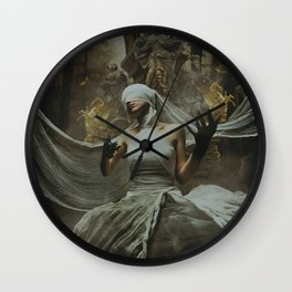 dark symphony Wall Clock