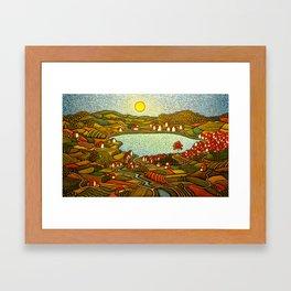 The Internal Landscape/ GC Myers Framed Art Print