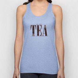 But First, Tea Unisex Tank Top