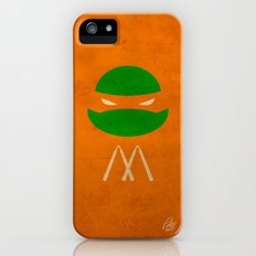 TMNT Mikey poster iPhone (5, 5s) Slim Case