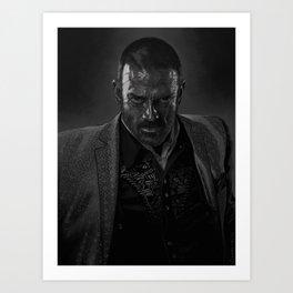 Murphy. Art Print