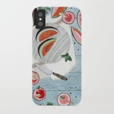 The Watermelon Season iPhone X Slim Case