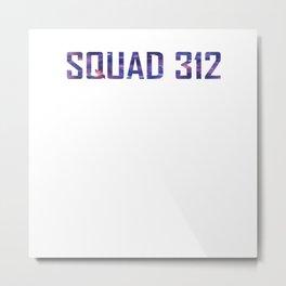 Bookish Squad 312 Aurora Rising Metal Print