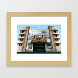 CINEMA PANTHEON Framed Art Print
