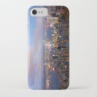 hong kong iPhone & iPod Cases featuring Hong Kong by iamkin