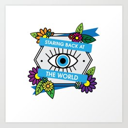 Eye Protection Art Print