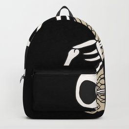 Skeleton Nerd Geek Gift Funny Backpack