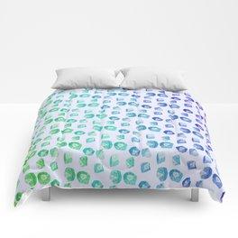 Nerd Dice Skin Comforters