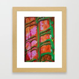 The Manipulation Of Paint #6 Framed Art Print