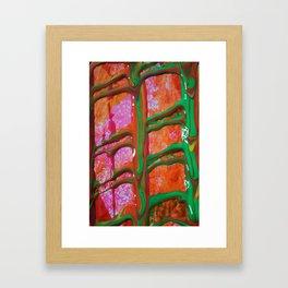 The Manipulation Of Paint #6 Framed Art Print