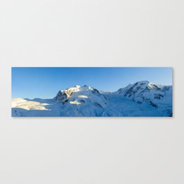 Monte Rosa and Lyskamm Canvas Print