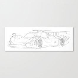 Porsche 911 GT1 Canvas Print